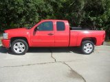 2007 Victory Red Chevrolet Silverado 1500 LT Extended Cab #52256368