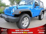 2011 Cosmos Blue Jeep Wrangler Sport S 4x4 #52255917