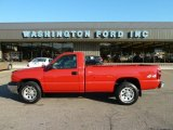 2005 Victory Red Chevrolet Silverado 1500 Regular Cab 4x4 #52256064