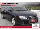 2008 Deep Sea Blue Pearl Effect Audi A4 2.0T S-Line Sedan #52256434