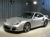 2007 Arctic Silver Metallic Porsche 911 Turbo Coupe #52286