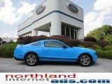 2011 Grabber Blue Ford Mustang V6 Premium Coupe #52255848