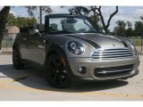 2011 Velvet Silver Metallic Mini Cooper Convertible #52256130