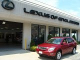 2009 Matador Red Mica Lexus RX 350 AWD #52256008