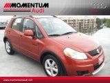 2007 Sunlight Copper Pearl Suzuki SX4 Convenience AWD #52256449