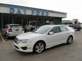 2011 White Platinum Tri-Coat Ford Fusion Sport #52255864