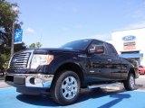 2011 Ebony Black Ford F150 XLT SuperCab #52255871