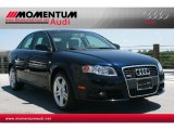 2008 Deep Sea Blue Pearl Effect Audi A4 2.0T quattro S-Line Sedan #52256454
