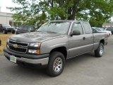 2006 Graystone Metallic Chevrolet Silverado 1500 LS Extended Cab 4x4 #52256316