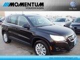2011 Deep Black Metallic Volkswagen Tiguan SE #52256481