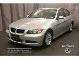 2007 Titanium Silver Metallic BMW 3 Series 328xi Sedan #5210622