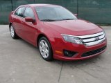 2011 Red Candy Metallic Ford Fusion SE #52310376