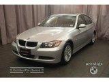 2007 Titanium Silver Metallic BMW 3 Series 328i Sedan #5210632