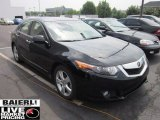 2009 Crystal Black Pearl Acura TSX Sedan #52310069