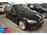 2011 Jet Black BMW 3 Series 335d Sedan #52310394