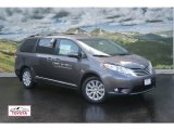 2011 Predawn Gray Mica Toyota Sienna Limited AWD #52310108