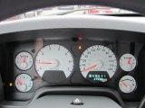 2008 Dodge Ram 1500 Big Horn Edition Quad Cab 4x4 Gauges