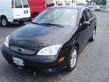 2005 Pitch Black Ford Focus ZX4 ST Sedan #52310132