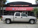 2005 Silver Birch Metallic Chevrolet Silverado 1500 LS Crew Cab #52310259