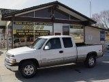 2002 Summit White Chevrolet Silverado 1500 LS Extended Cab 4x4 #5223381