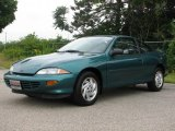 Medium Green Metallic Chevrolet Cavalier in 1999