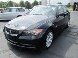 2008 Jet Black BMW 3 Series 335xi Sedan #52310286