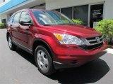 2011 Tango Red Pearl Honda CR-V LX 4WD #52310173