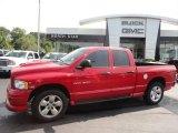 2005 Flame Red Dodge Ram 1500 SLT Quad Cab 4x4 #52310327