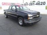 2006 Black Chevrolet Silverado 1500 LS Extended Cab #52310483