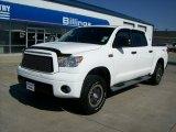 2010 Super White Toyota Tundra TRD Rock Warrior CrewMax 4x4 #52310670