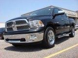 2010 Brilliant Black Crystal Pearl Dodge Ram 1500 Laramie Crew Cab 4x4 #52362016
