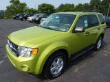 2012 Ford Escape Lime Squeeze Metallic
