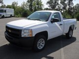 2011 Summit White Chevrolet Silverado 1500 Regular Cab #52362224