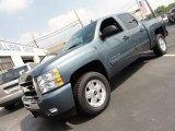2011 Blue Granite Metallic Chevrolet Silverado 1500 LT Crew Cab 4x4 #52362085