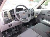 2011 Chevrolet Silverado 1500 Regular Cab 4x4 Dark Titanium Interior