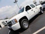 2011 Summit White Chevrolet Silverado 1500 LS Crew Cab 4x4 #52362086