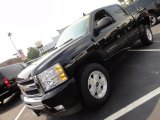 2011 Black Chevrolet Silverado 1500 LT Crew Cab 4x4 #52362087