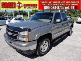 2006 Graystone Metallic Chevrolet Silverado 1500 Z71 Crew Cab 4x4 #52362252