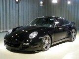2007 Black Porsche 911 Turbo Coupe #52383