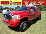 2006 Flame Red Dodge Ram 1500 Laramie Mega Cab 4x4 #52362256