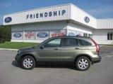 2008 Green Tea Metallic Honda CR-V EX-L 4WD #52389997