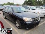 2007 Dark Blue Metallic Chevrolet Malibu LS Sedan #52389984