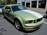 2006 Legend Lime Metallic Ford Mustang GT Premium Convertible #52395952