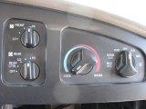 2002 Ford E Series Cutaway E450 Commercial Passenger Van Controls