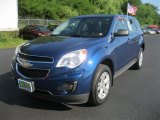 2010 Navy Blue Metallic Chevrolet Equinox LS #52396346