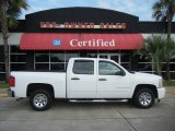 2009 Summit White Chevrolet Silverado 1500 Crew Cab #52396011