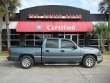 2006 Blue Granite Metallic Chevrolet Silverado 1500 LS Crew Cab #52396013