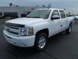 2011 Summit White Chevrolet Silverado 1500 LT Crew Cab 4x4 #52396234