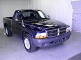 2004 Patriot Blue Pearl Dodge Dakota SXT Regular Cab #52396260