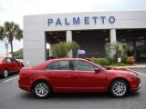 2010 Sangria Red Metallic Ford Fusion SEL #52396152
